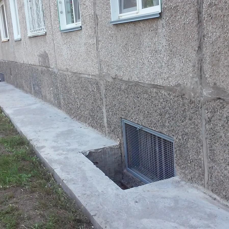 продухи в подвале многоквартирного дома